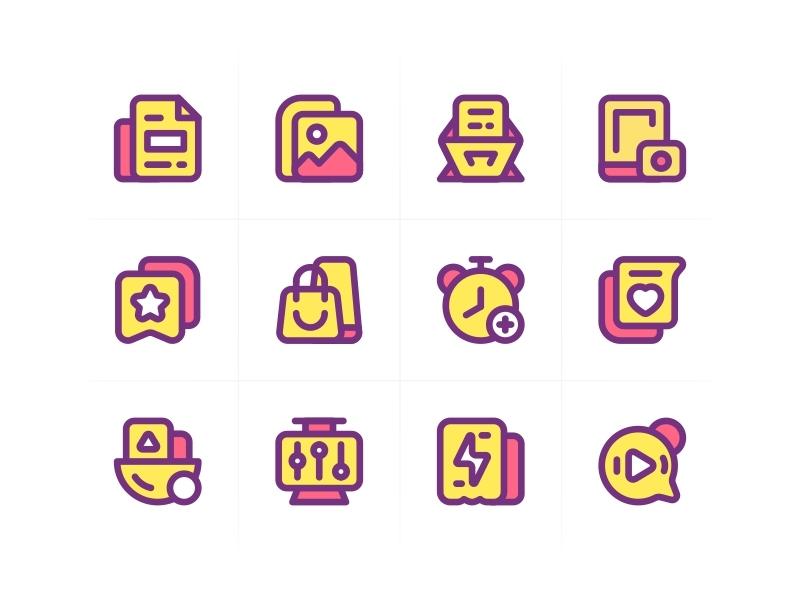 SA9527 - Icon Design Style 008 style design ui icon sa9527