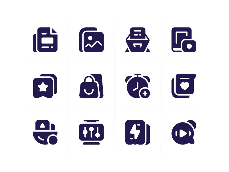 SA9527 - Icon Design Style 013 style design ui icon sa9527