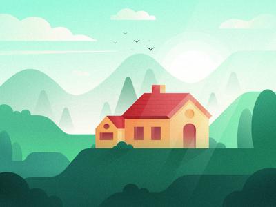 Sa9527-Scenery & Woodhouse