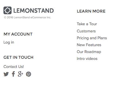 Logo play lemonstand lemon logo