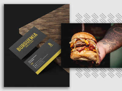 Burguemia Meet & Taste restaurant branding logodesign visual identity burger food logo graphicdesign design brand
