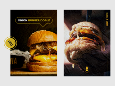 Burguemia Meet & Taste visual identity type burguer restaurant food logo graphicdesign design branding brand