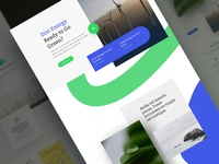 Green Energy Landing Page Design for Divi