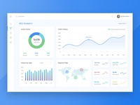 SEO Analysis Dashboard & Web Application Design