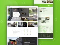 Single Property Website Landing Page