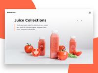 Website Slider Design Concept.