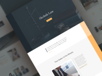 Law Firm Website Template - Sneak Peek