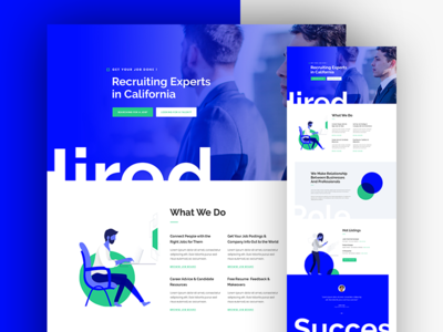 Recruitment Agency Landing Page website template layout landing wordpress divi job agency recruitment recruitment agency corporate business