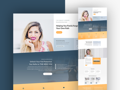Business Coach Designs Themes Templates And Downloadable Graphic Elements On Dribbble
