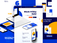 App Landing Page for Divi (Black Friday)