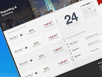 Scheduling App app ui design