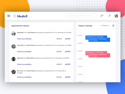 Appointment Dashboard for Doctors