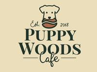 Puppy Woods Caffe logo