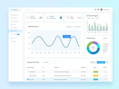 Datasoft - Admin Dashboard
