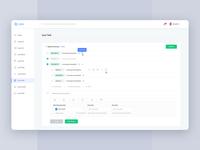 Task Management analytics web application ui ux dashboard task management tasks