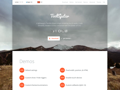 Tooltipster 2.0 clean minimal responsive jquery tooltip