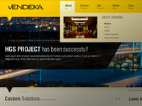 Vendeka - New interface
