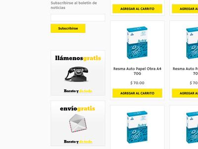 E-Commerce Website Concept - 02