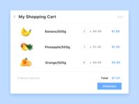 My Shopping Cart