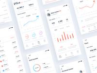 Stats App White