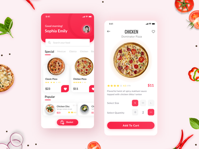 Pizza Delivery UI appdesigner foodui food pizzaui pizzeria creative pizzadelivery deliveryapp pizza appdesign uidesign app design mobile ui mobile app design ux app ui uiux design