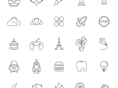 50 free icons for empty states cadabra ui empty states web mobile outline state empty set free icons