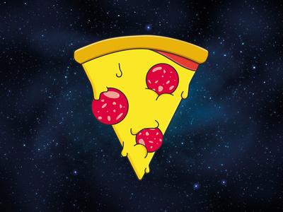 Logo - PizzaYolo galaxy sausage logos logo pizza