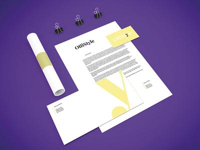 Offistyle Branding grenoble office logo design print branding offistyle