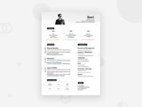 Personal Resume - Bazil Hamard - 2018