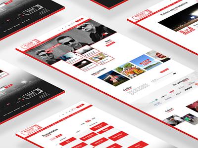 Musilac festival 2018 - new website 🎶 chamonix isometric free product france design ui webdesign concert festival musilac