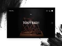Frédéric Bau - Full screen menu