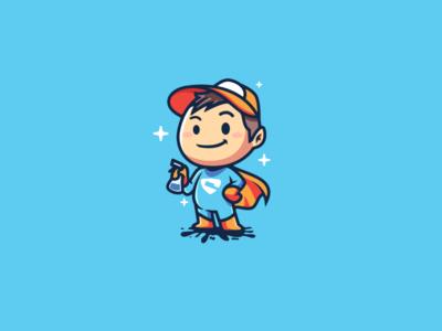 Super cleaner boy
