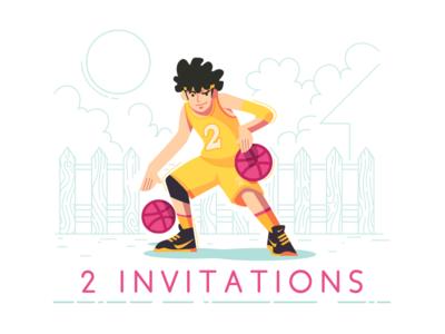 2x Invitations