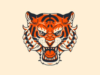 Fire Tiger Head