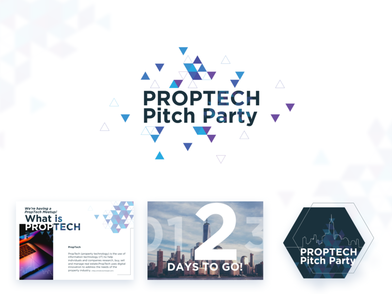 Proptech Pitch Party Branding