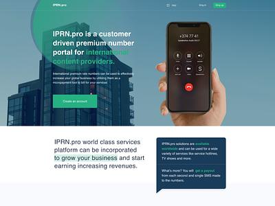 IPRN.pro uxui ux design ui design