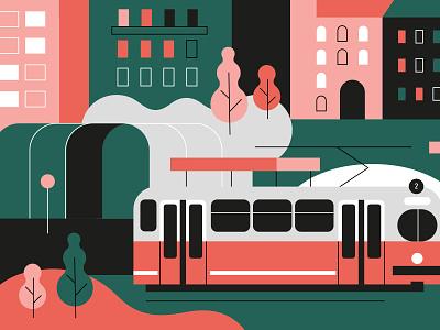Vienna / Schwedenplatz Art Print schwedenplatz austria travel europe transport tram wien vienna