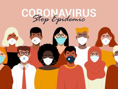 Novel Coronavirus Covid-19 concept