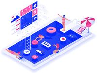 Social Network pool