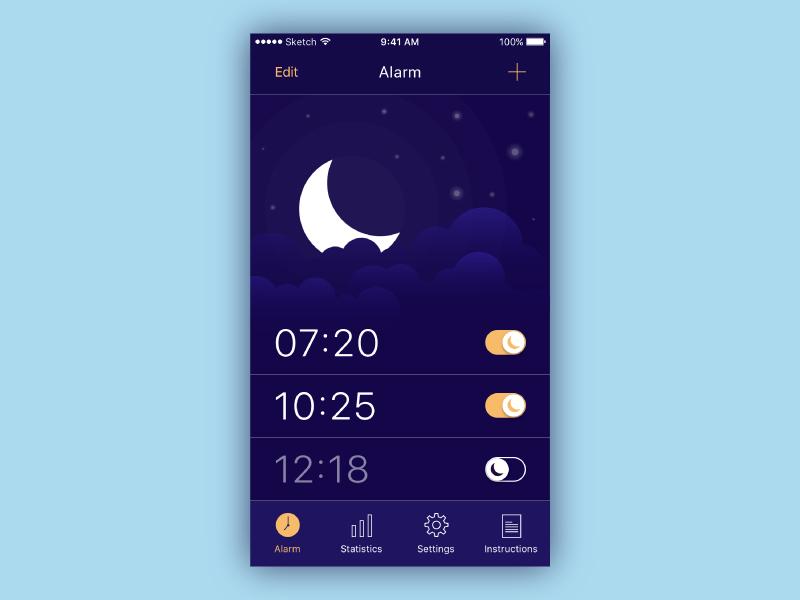 Alarm Clock by Katya Syuma
