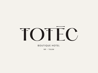 Totec Hotel Logo Animation