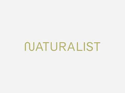 Naturalist Logo Animation interaction design brand graphic design graphic animation natural icon font typeface type branding logo design reveal text logo