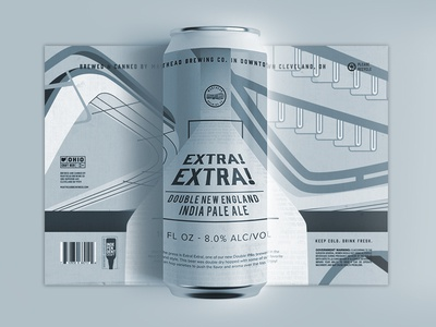 Extra! Extra! Beer Label