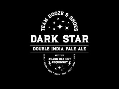 Dark Star Beer Label