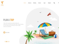 Tripiz Travel  landing page