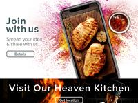 Heaven Kitchen Landing Page