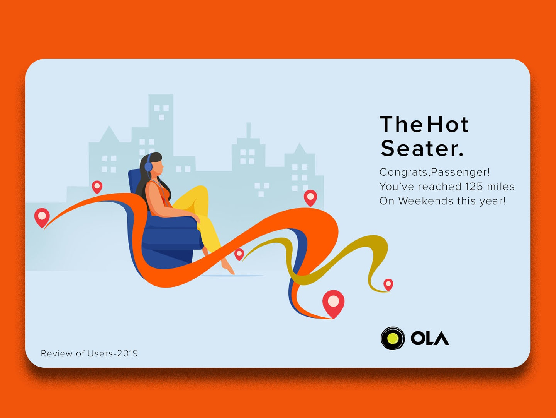 The Hot Seater. ui design