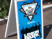 blu PLUS+ One Concert Series Sandwich Board