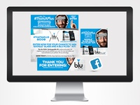 "Blu ""Glasshole"" Social Media Digital Campaign"