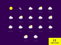 17 Free Weather Icons